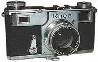 ZK lenses on Kiev rangefinder camera