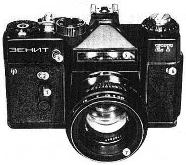 Инструкция к фотоаппарату зенит ет